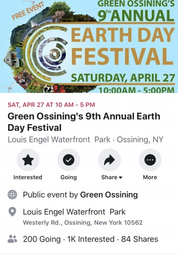 Earth Day Events: April 27-28th 2019