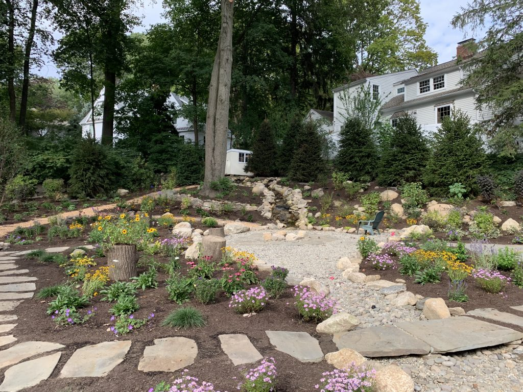 Designing a Bird Sanctuary | PART TWO: Layout, Planting Microclimates & Masonry | Darien, CT