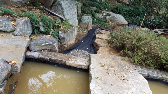 Storm Water Drainage, Landscape Design & Construction | Pound Ridge, New York