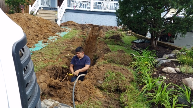 Landscape Construction, Irrigation Repair & Water Main Utility Replacement | Mamaroneck, NY