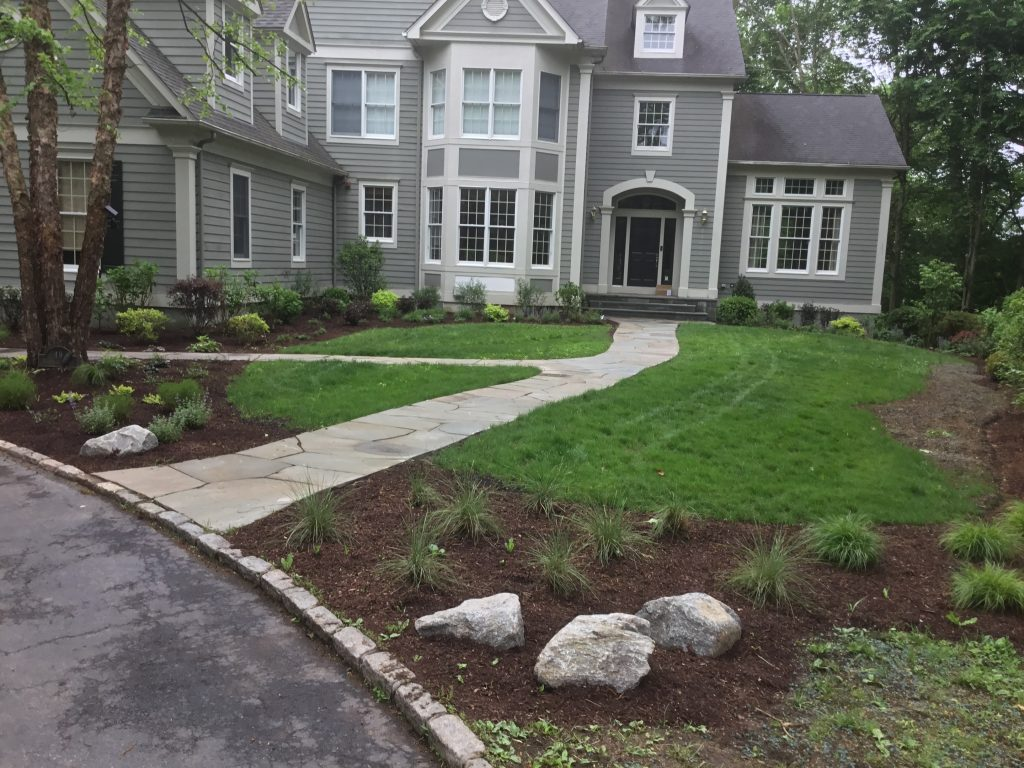 Ecological Foundation Planting | Landscape Design Master Plan | Irvington, NY