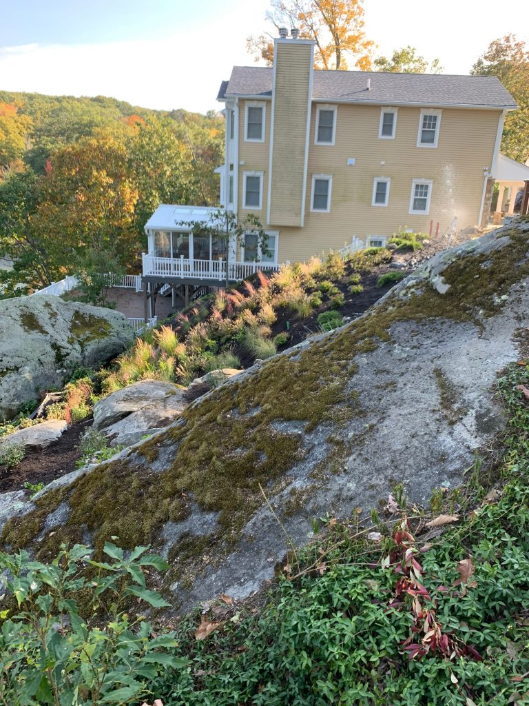Hillside Garden: Landscaping a Steep Slope for Erosion Control | Dutchess County, NY