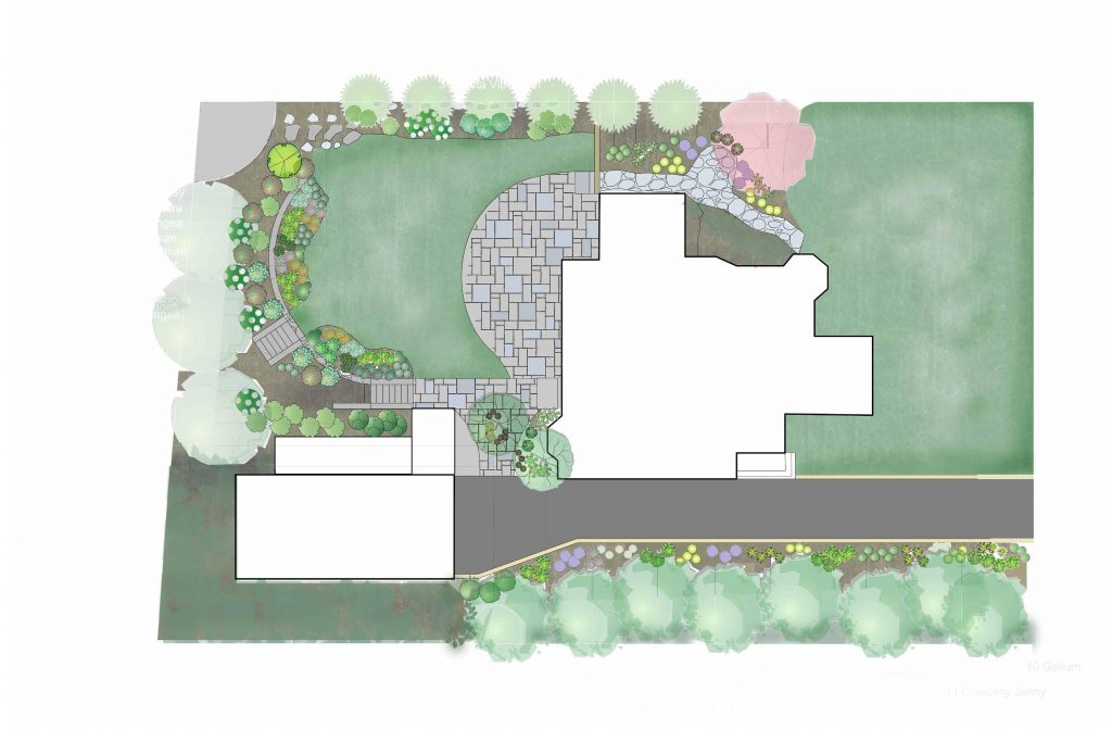 Landscape Design Master Plans in Westchester County, NY