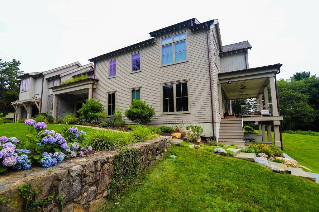 Modern Meets Natural: Contemporary Ecological Landscape Design for 2021 | Darien, CT